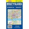 Mapa Składana Bratysławy 1:19 500