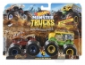 Hot Wheels Monster Trucks: Pojazdy 2-pak - Hotweiler vs Hound Hauler