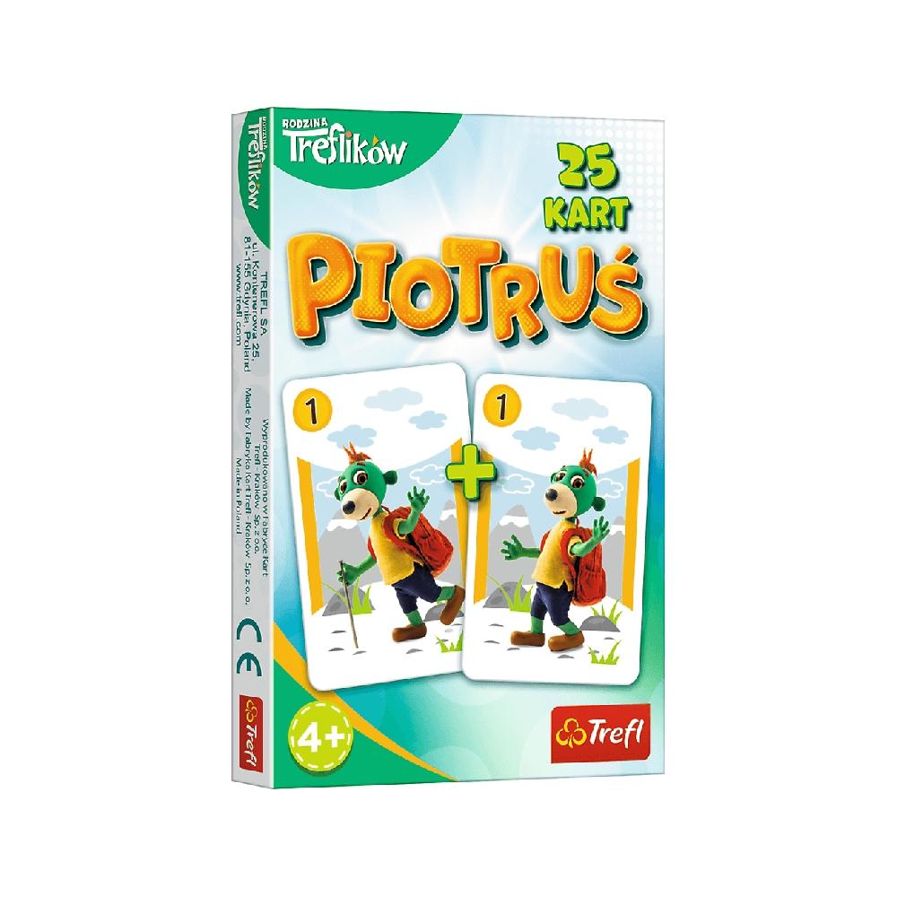 Karty Piotruś - Rodzina Treflików (08482)