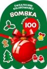 Bombka - Kolorowanka z naklejkami