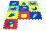 ARTYK 10 EL. Puzzle piankowe Owoce (X-ART-1016B-10)