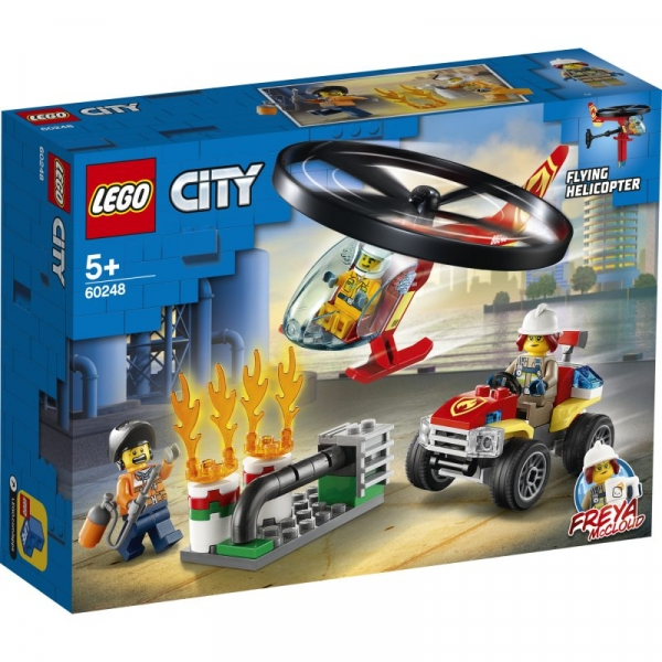 Lego City: Helikopter strażacki leci na ratunek (60248)
