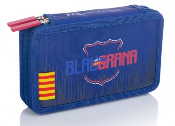 Piórnik podwójny bez wyposażenia FC Barcelona Barca Fan 7 (FC-237)