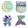 Zakładki magnetyczne Mermaid 4 sztuki