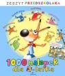 1000 nalepek dla 3-latka