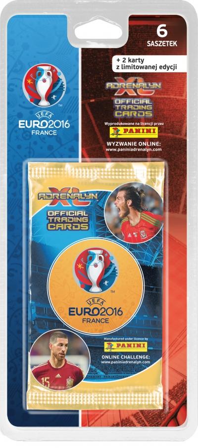 UEFA EURO 2016 Adrenalyn Karty -blister 6+2