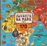 Puzzle 170: Zwierzęta na mapie. Mizielińska Aleksandra, Mizieliński Daniel