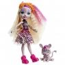 Enchantimals: Lalka Zadie Zebra i zwierzątko Ref (FNH22/GTM27)