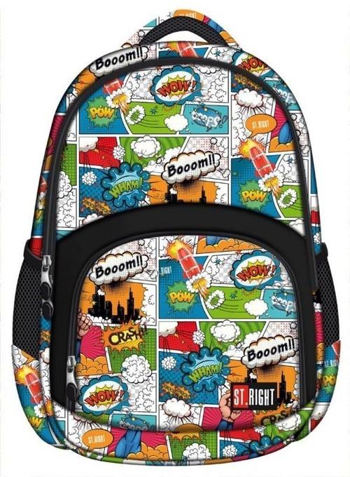 Plecak 3-komorowy Comics