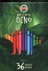 Kredki Dino 36 kolorów (3595)