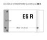 Okładka na podręczniki standard E6R regulowana op.25szt. OZ-47