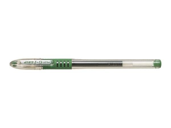 Długopis żelowy Pilot G-1 Grip zielony (BLGP-G1-5-G)