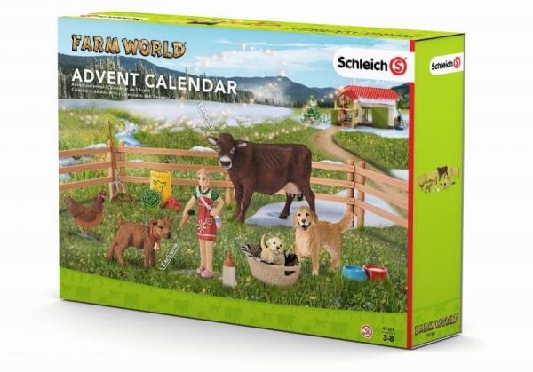 Kalendarz adwentowy, życie na farmie