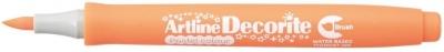 Marker specjalistyczny Artline pastel decorite, pomarańczowy pędzelek końcówka (AR-035 5 4)