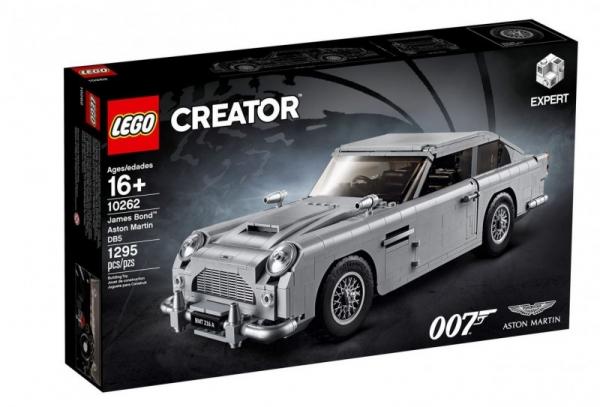 Klocki Creator Expert James Bond Aston Martin DB5 (10262)