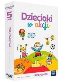 Dzieciaki w akcji 5-latki pakiet NE Anna Stalmach-Tkacz, Karina Mucha
