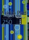Kołozeszyt A4 Pukka Pad Stripe w kratkę 250 stron mix