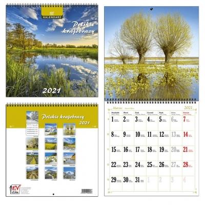 Kalendarz 2021 13 Plansz Polskie Krajobrazy