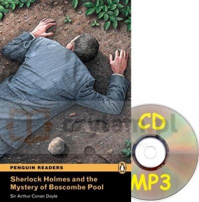 Pen. Sherlock Holmes and Mystery of Boscombe Pool Bk/MP3 CD (3) Arthur Conan Doyle