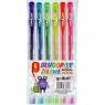 Długopisy żelowe Fun&Joy fluorescencyjne, 6 kolorów (203260)