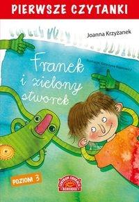 Pierwsze czytanki Franek i zielony stworek Krzyżanek Joanna