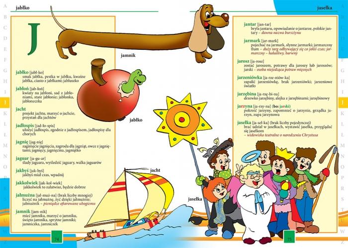 Ilustrowany słownik ortograficzny Lucyna Szary