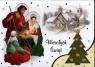 Karnet świąteczny BN B6X religia lub świecki MIX