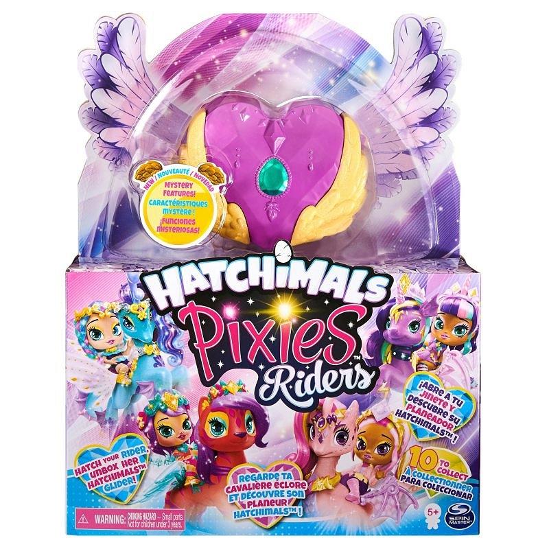 Hatchimals Pixies Riders: Wróżka Lilac Luna i Swanling Glider (6058551/20127519)
