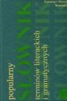 Słownik terminów literackich i gramatycznych Popularny (Uszkodzona okładka)