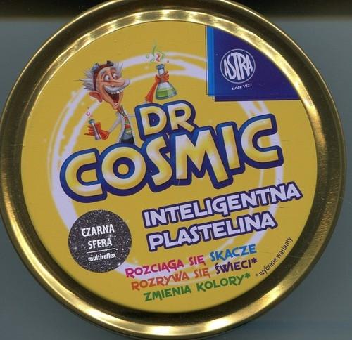 IQ Plastelina DrCosmic czarna sfera