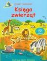 Księga zwierząt książka z naklejkami