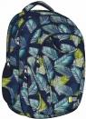 Plecak 4-komorowy Tropikalne Liście
