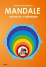 Mandale radościa malowane Krajewska Marzanna