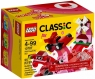 Lego Classic: Czerwony zestaw kreatywny (10707) od 4 lat