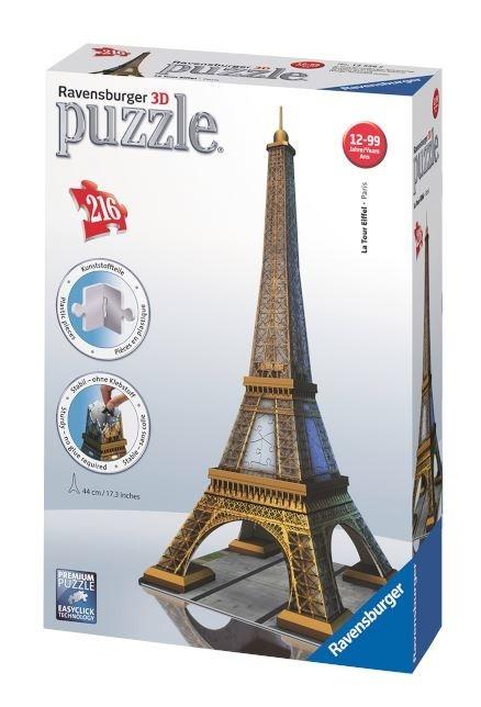Puzzle 216 Elementów 3D Wieża Eifla (111831)