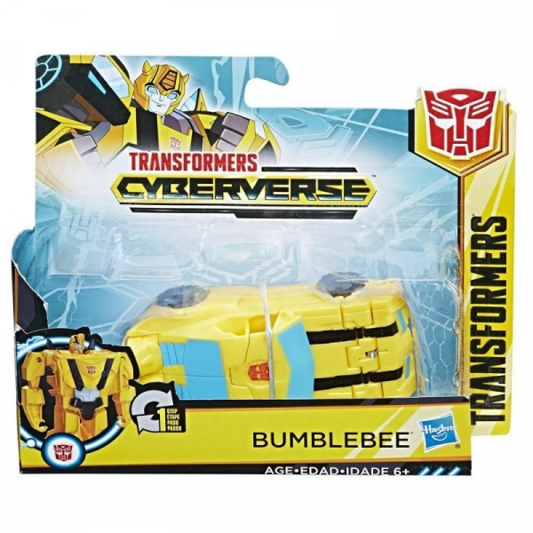 Figurka Transformers Cyberverse 1-krok - Bumblebee (E3522/E3523)