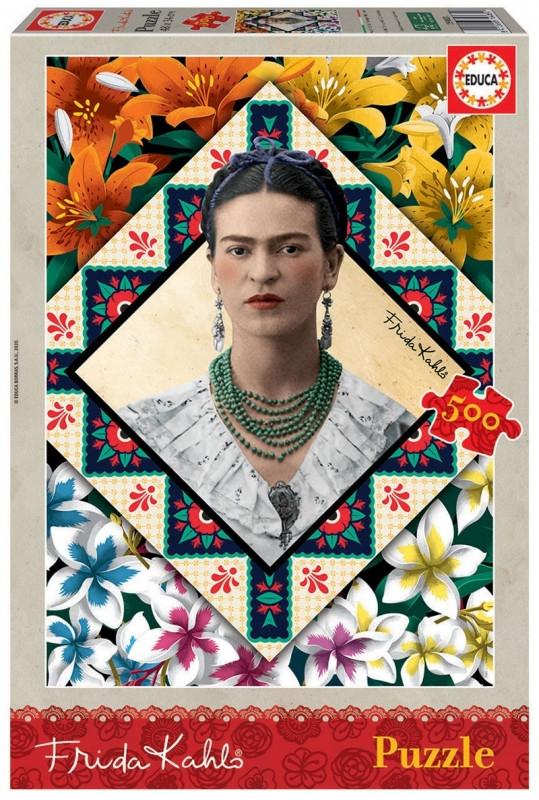 Puzzle 500 Elementów Frida Kahlo (18483)