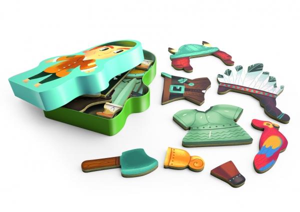 Magnetyczne puzzle Aventuro (DJ03083)