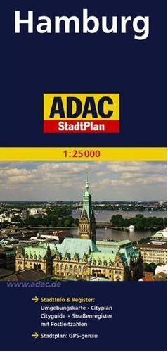 StadtPlan ADAC. Hamburg 1:25 000 praca zbiorowa