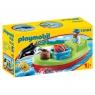 Playmobil 1.2.3: Marynarz z łodzią rybacką (70183) Wiek: 18m+