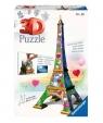 Puzzle 3D: Wieża Eifla - Edycja Love (11183)