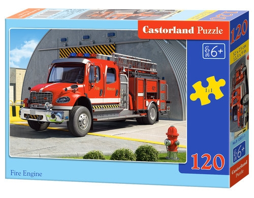 Puzzle 120: Fire Engine (12831). B-12831