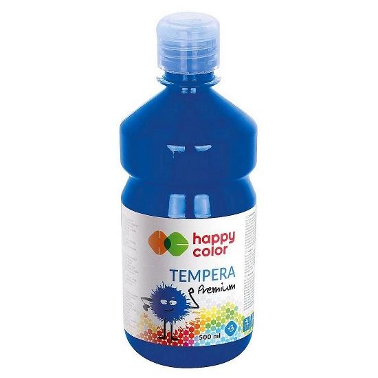 Farba tempera 500 ml - granatowa (305823)