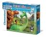 Puzzle 104 Maxi Dobry Dinozaur (23683)