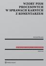 Wzory pism procesowych w sprawach karnych z komentarzem Błoński Michał