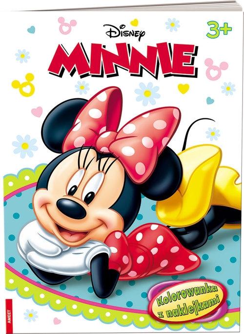 Minnie Kolorowanka z naklejkami