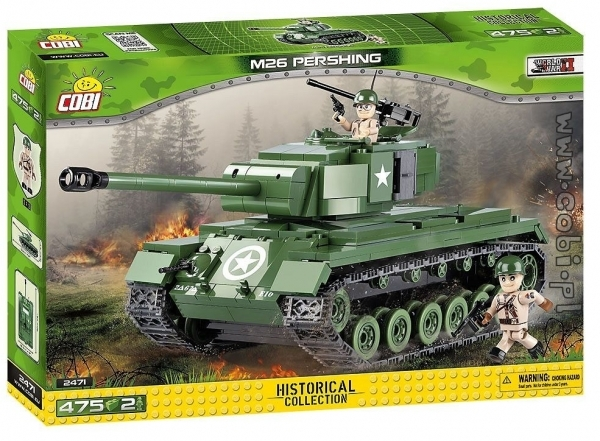 Mała Armia WWII Czołg M26 Pershing