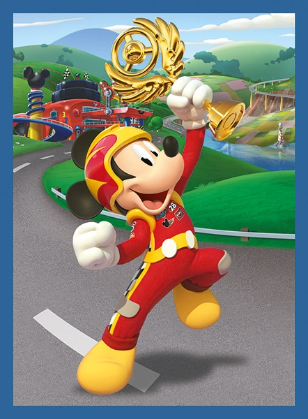 Puzzle klockowe 12: Mickey and the Roadster Racers (41183)