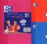 Zeszyt A5 Oxford w kratkę 60 kartek 2+1 gratis mix