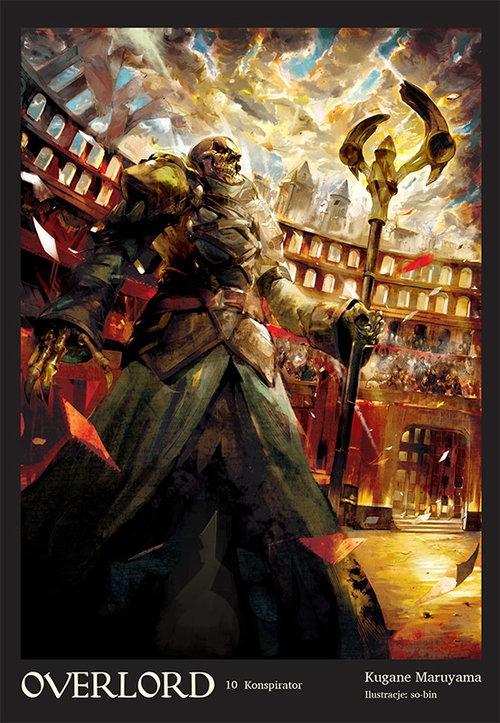 Overlord #10 Konspirator Maruyama Kugane